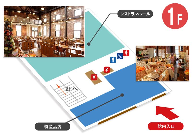 館内マップ1階1206